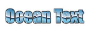 GIMP Ocean Text Scripts