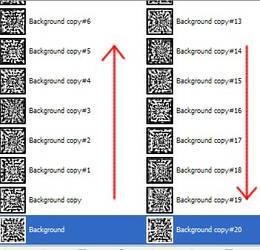 GIMP Reverse Layers Script