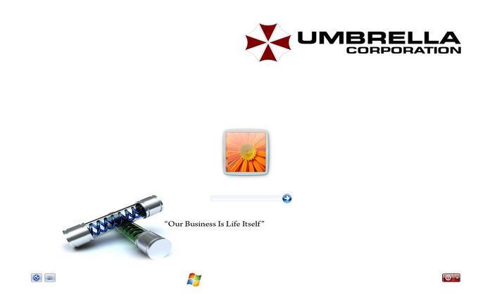 screensaver umbrella corp windows 7 - Free Download