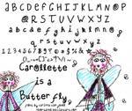 carollette is a butterfly.