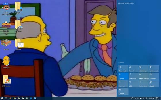 Windows 10 - Steamed Hams by MrRussellgro