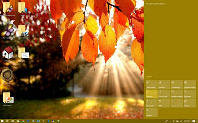 Windows 10 Plus! - Falling Leaves 2.0