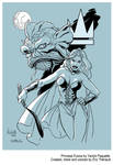 Princess Futura by Yanick Paquette by mistertheriault