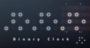 Rainmeter Binary Clock v2