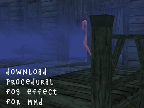 Download procedural fog effect for MMD