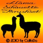 Llama Brush set by CaWoDa