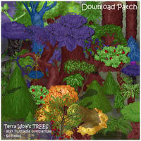 Furcadia Item Patch: Trees by Terra-Wolf