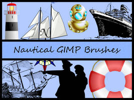 Nautical GIMP Brushes by Jedania