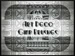 Art Deco GIMP Brushes