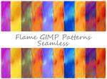 Flame GIMP Patterns