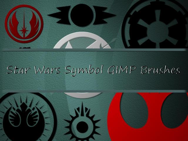 Star Wars Symbol GIMP Brushes by Jedania