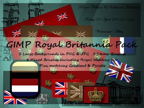 GIMP Royal Britannia Pack