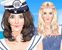 Navy Princess Dress Up