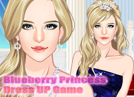 Blueberry Princess Dress Up by sweetygame