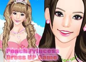 Dress Up Peach Princess by sweetygame