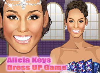 Alicia Keys Dress Up by sweetygame