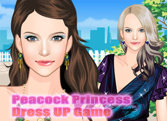 Peacock Princess Dress Up by sweetygame