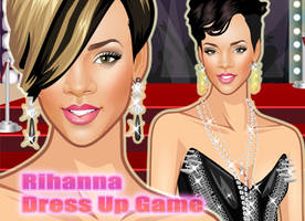 Dress Up Rihanna by sweetygame