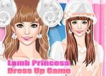 Dress Up Lamb Princess