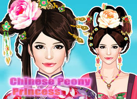 Chinese peony princess by sweetygame