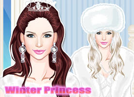Dress Up Winter Princess by sweetygame