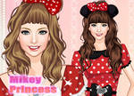 Dress Up Mickey Princess