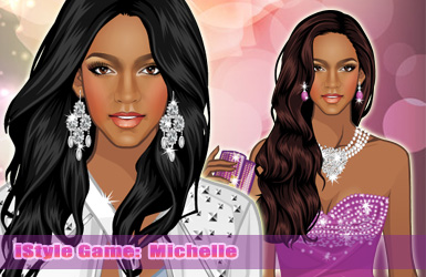 iStyle: Dress Up Michelle by sweetygame