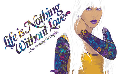 Nothing Without Love Wallpack