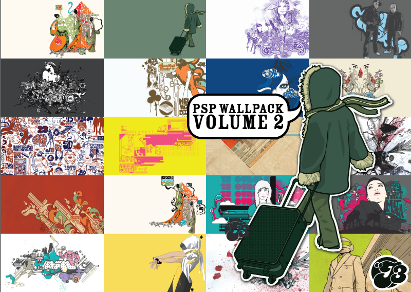 PSP Wallpack Vol.2 by j3concepts