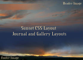 Sunset Journal CSS by Aryenne