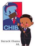 chibi Obama gif