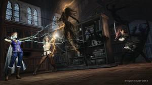 Ambush at the Great Library of Greyhawk City