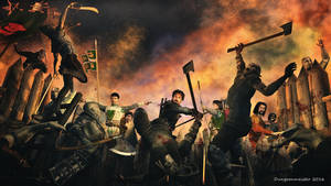 Assault on Quaalsten by dungeonmeister