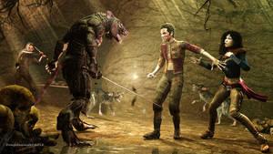 Girrigz the wererat by dungeonmeister