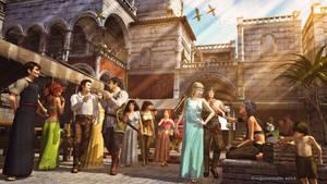 Sasserine,  the Champion District by dungeonmeister