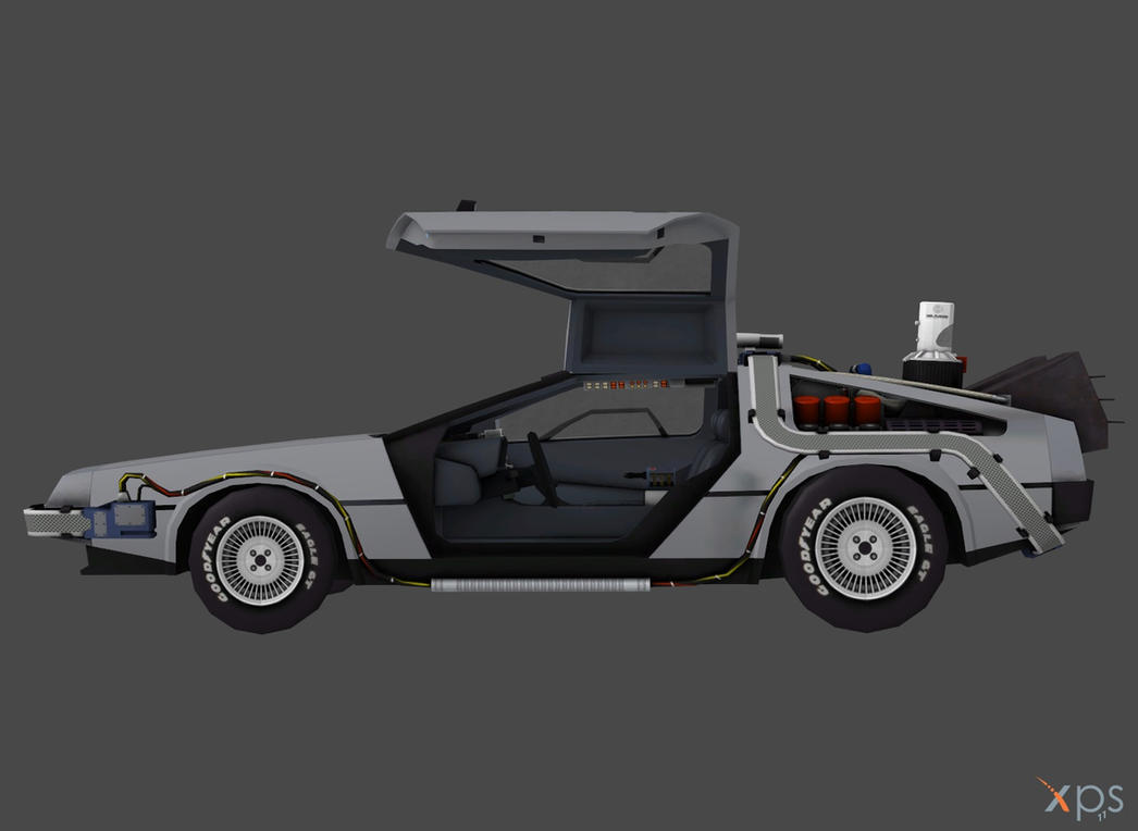 Delorean Time Machine For Xnalara Rigged By Outadimes On
