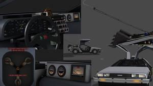 Delorean Time Machine for Xnalara - BTTF Part 1