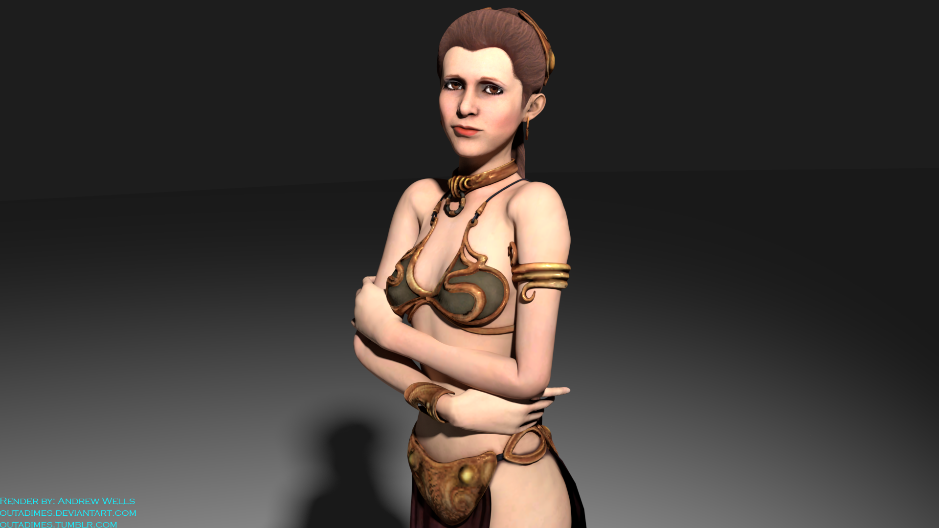 Slave leia for xpsxnalara by outadimes on deviantart slave leia for xpsxnalara by outadimes ccuart Gallery