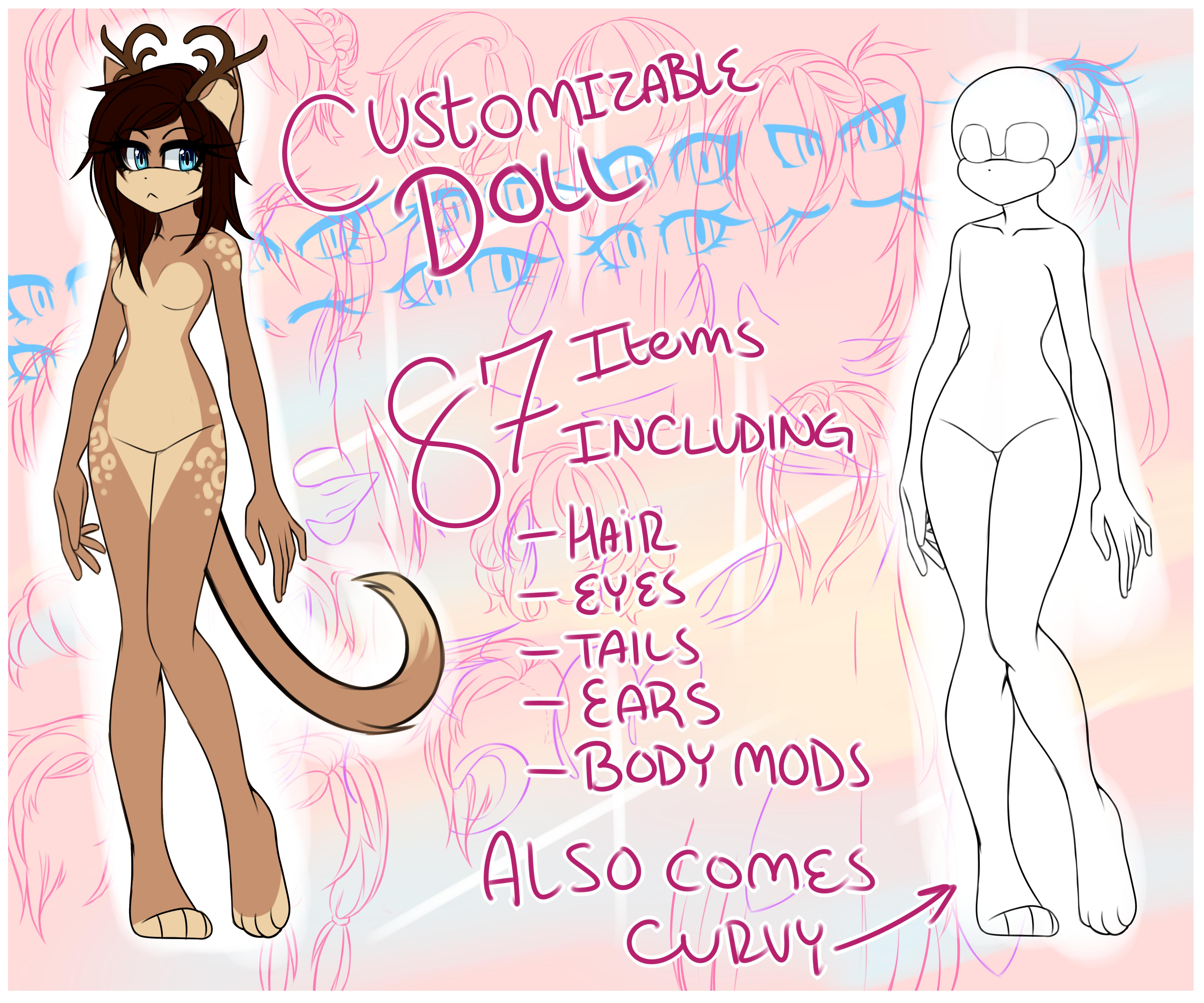 Line Art Creator : P u female sonic doll v by grehmlynn on deviantart