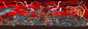 Destroy All Monsters 2025 by Tomzilladoesartsorta