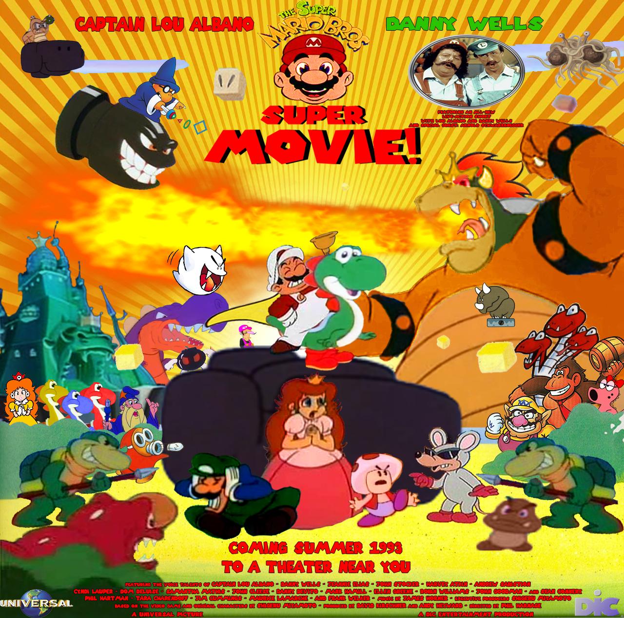 The Super Mario Bros Super Movie By Tomzilladoesartsorta On