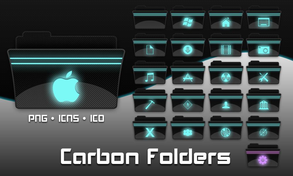 Carbon Folders by necramar