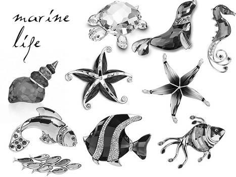 crystal marine miniatures