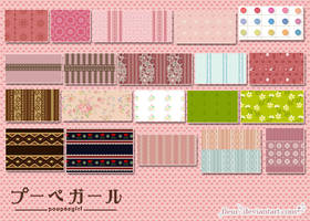 poupeegirl patterns by fleur-