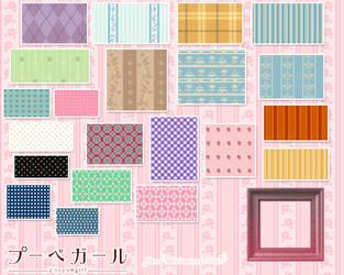 poupeegirl patterns 2 by fleur-