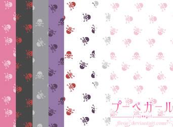 poupeegirl patterns 3 Skulls by fleur-