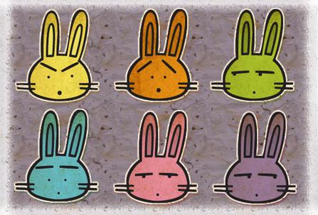 cute rabbit icons mac by lobuna