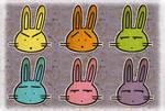 cute rabbit icons mac by lobuna on DeviantArt