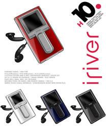 iRiver H10 Dock Icons