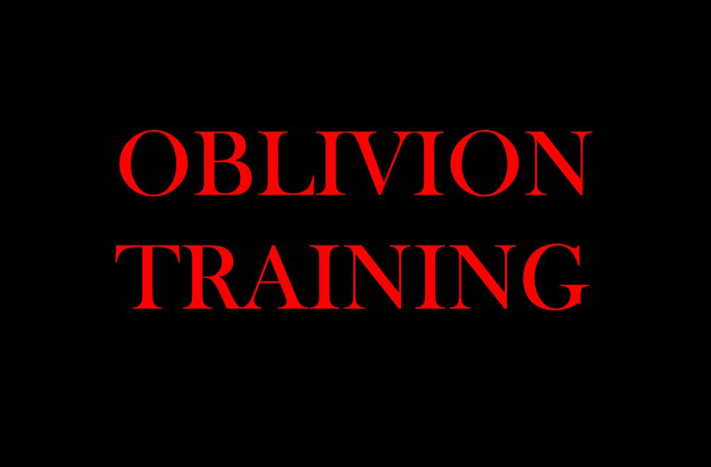 Oblivion training by fireheart1001
